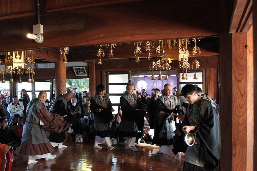 浄土宗福正寺西方の踊り念仏