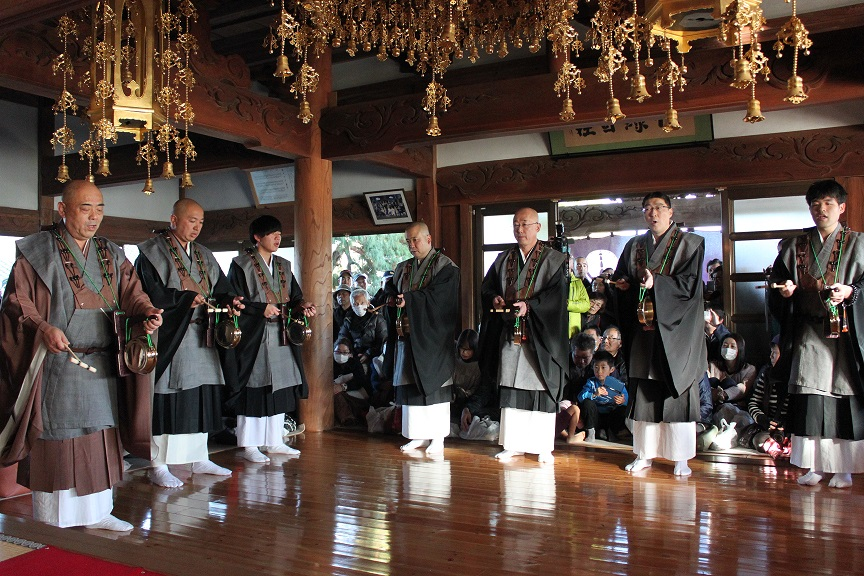 栃木浄土宗福正寺西方の踊り念仏